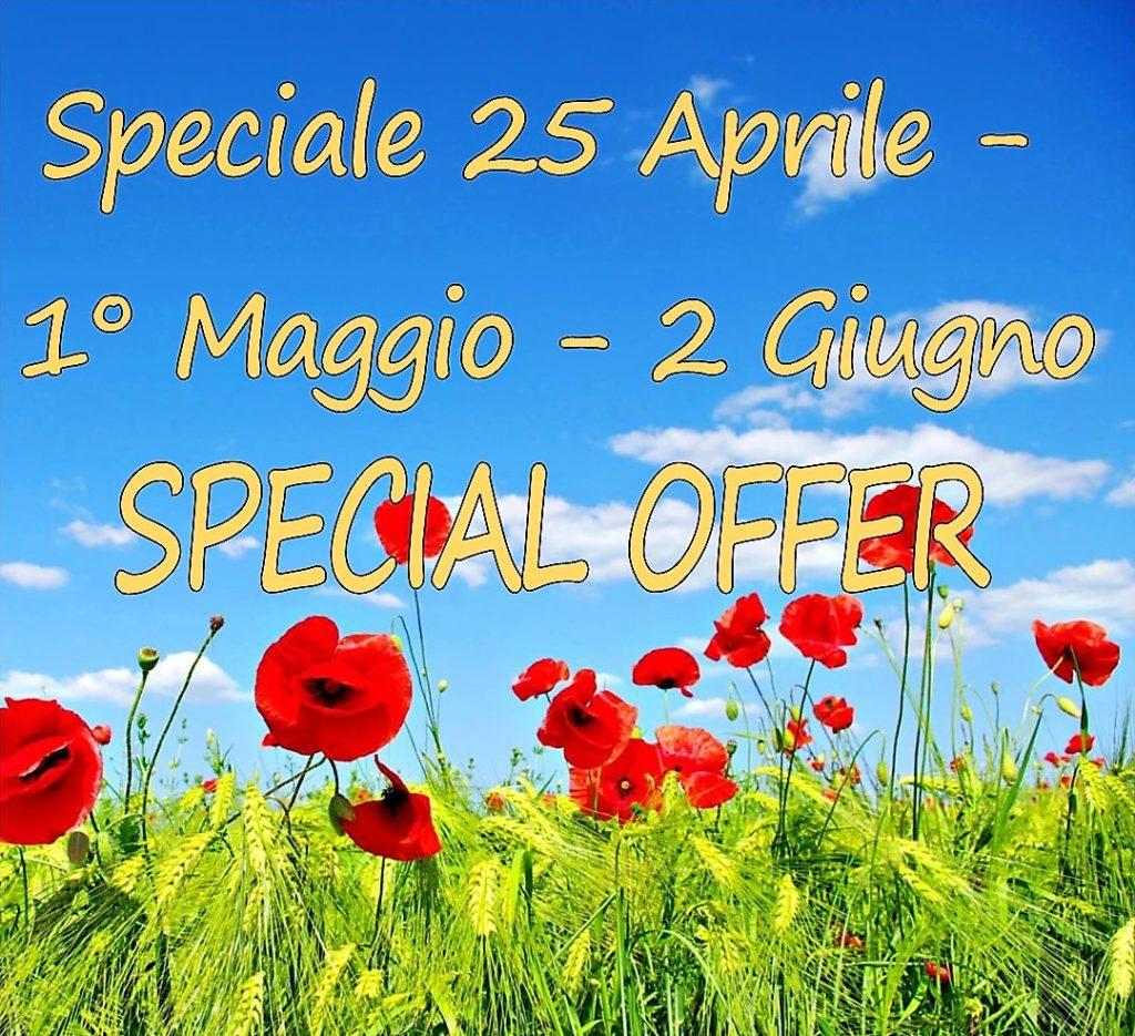SPECIALE 25 APRILE 1 MAGGIO 2 GIUGNO